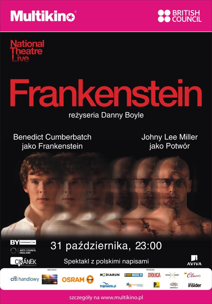 "Halloween z ""Frankensteinem"", czyli National Theatre Live w Multikinie_Plakat"
