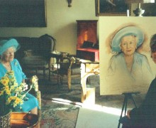 Barbara Hamilton podczas pracy